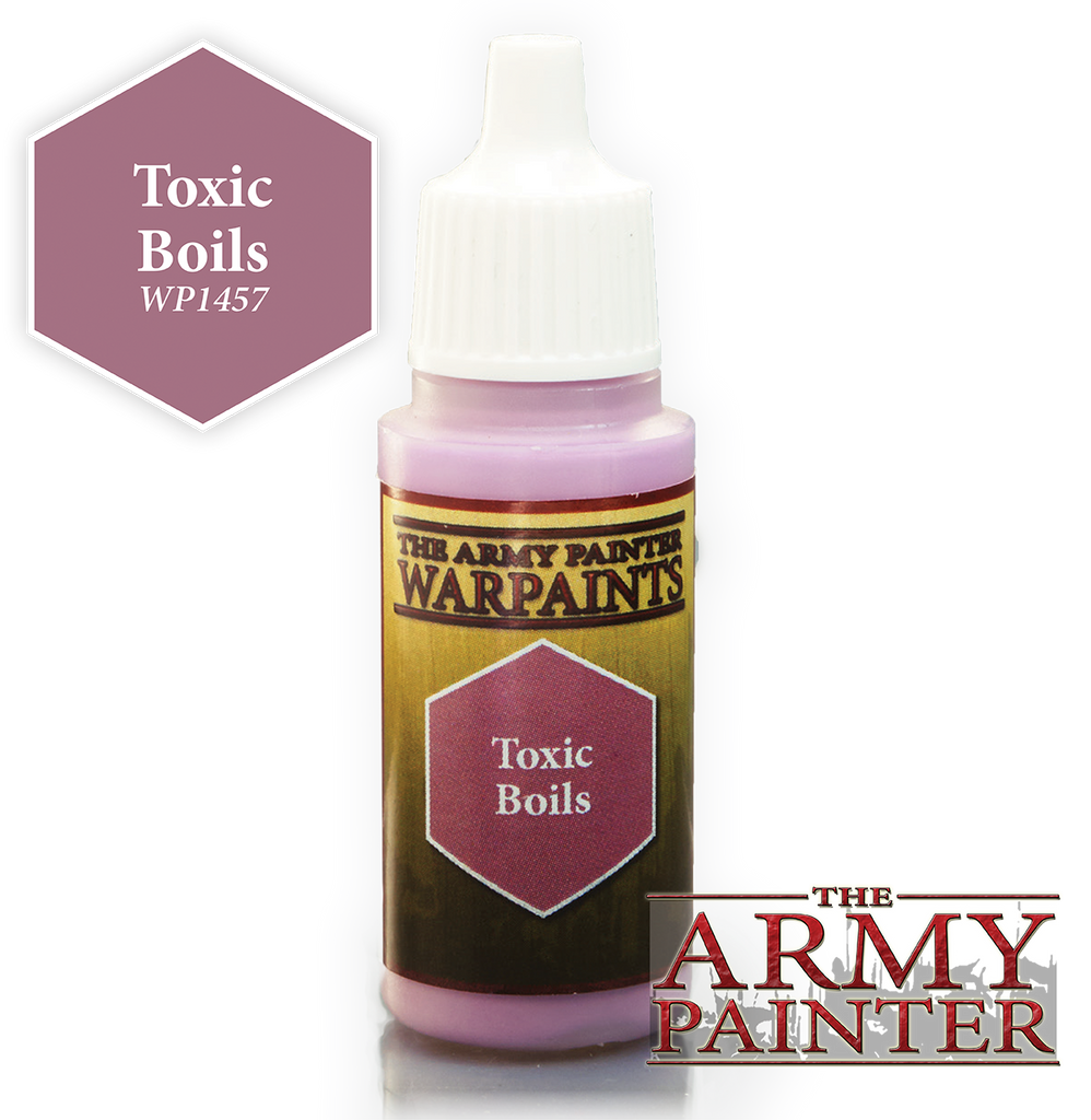 The Army Painter: Warpaints - Toxic Boils