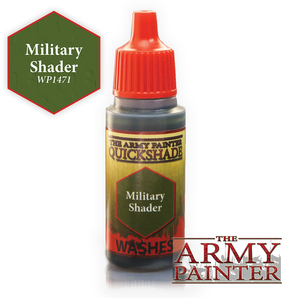 The Army Painter: Warpaints - Quickshade Military Shader Wash