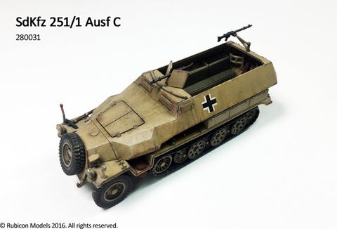 German SdKfz 251/1 Ausf C (Rubicon) 280031