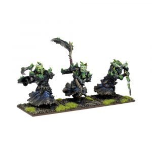 Undead Wights Troop - Kings of War :www.mightylancergames.co.uk