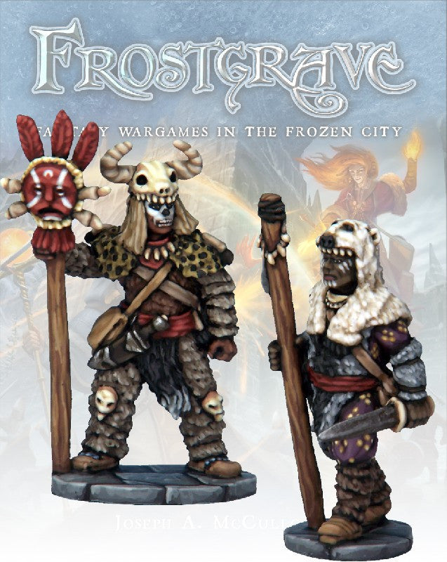 Frostgrave - Witch & Apprentice: www.mightylancergames.co.uk