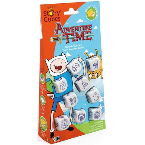 Adventure Time - Rory's Story Cubes: www.mightylancergames.co.uk