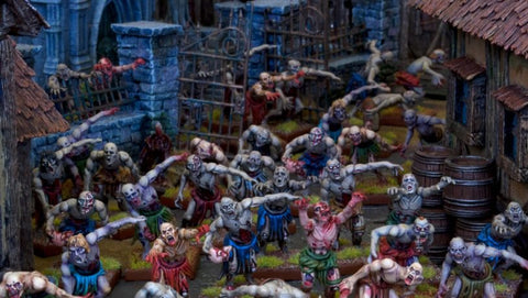 Zombie Horde - Undead (Kings of War) :www.mightylancergames.co.uk