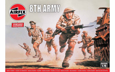 scale model 8th army