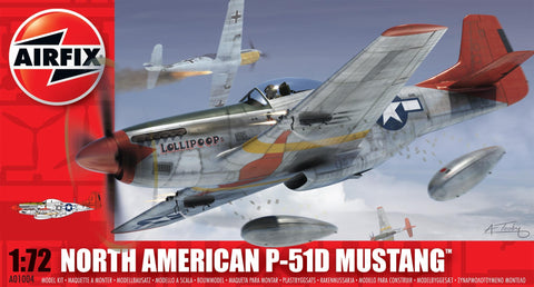 North American P-51D Mustang - Airfix 1/72: www.mightylancergames.co.uk