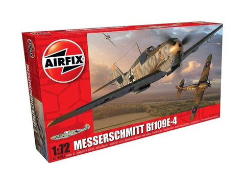 Messerschmitt Bf109E-4 Airfix 1/72: www.mightylancergames.co.uk