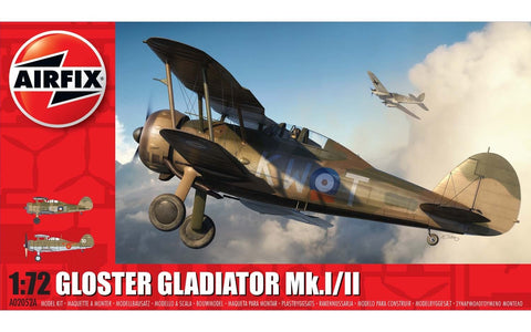 Gloster Gladiator Mk.I/II Airfix 1/72: www.mightylancergames.co.uk