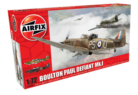 Boulton Paul Defiant Mk.I - Airfix 1/72: www.mightylancergames.co.uk
