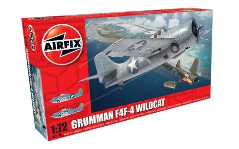 Grumman F4F-4 Wildcat - Airfix 1/72: www.mightylancergames.co.uk