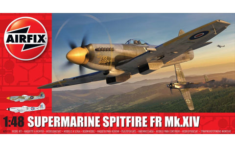 Supermarine Spitfire FR Mk.XIV -Airfix 1/48: www.mightylancergames.co.uk