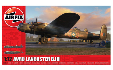 Avro Lancaster B.III - Airfix 1/72: www.mightylancergames.co.uk