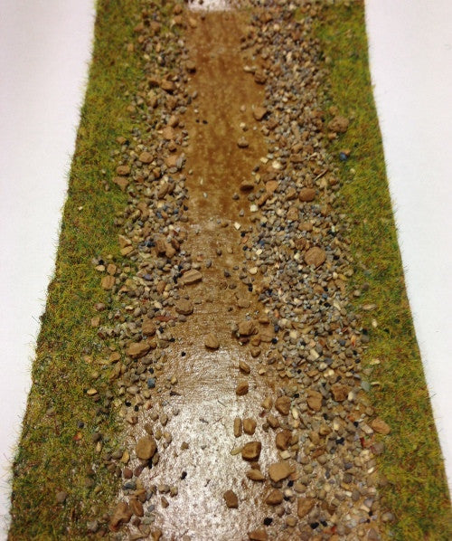 Battle Zone: 75mm X 1200mm Sandy Ditch