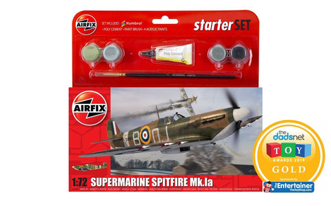 1/72 Supermarine Spitfire Mk.1a - Small Starter Set (A55100) : www.mightylancergames.co.uk