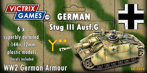 StuG III (Victrix 12mm/1:144 Tanks)