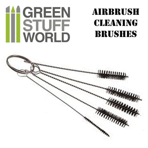 Airbrush Cleaning Brushes  (Green Stuff World 1409)