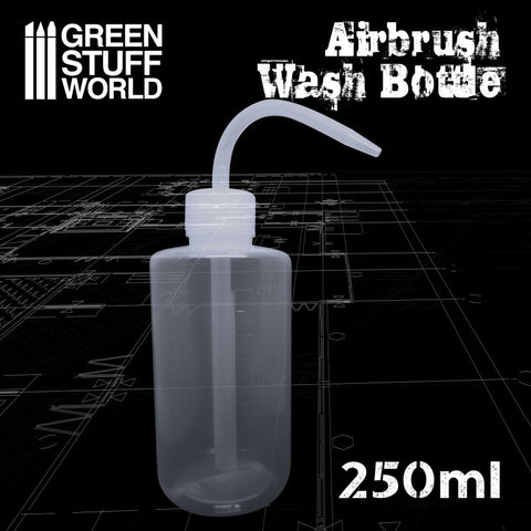 Airbrush Wash Bottle 250ml - Green Stuff World - 2306