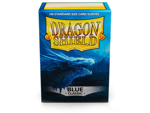 Dragon Shield Blue Classic – 100 Standard Size Card Sleeves
