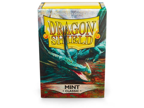 Dragon shield Sleeves classic Mint (100)
