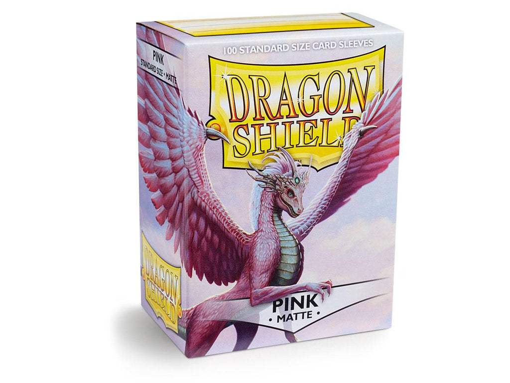 Dragon Shield Matte Pink – 100 Standard Size Card Sleeves: www.mightylancergames.co.uk