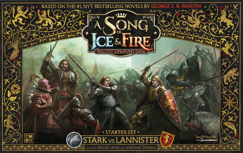 A Song of Ice & Fire: Tabletop Miniatures Game -STARTER SET - STARK VS LANNISTER