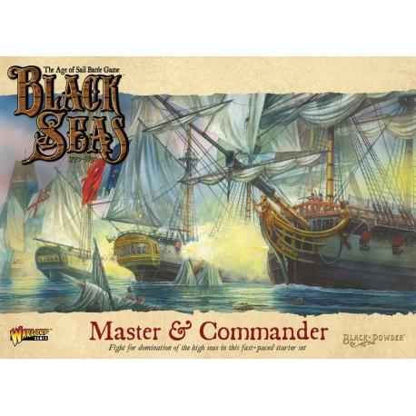 Master & Commander Starter Set - Black Seas (The Age of Sail Game) :www.mightylancergames.co.uk