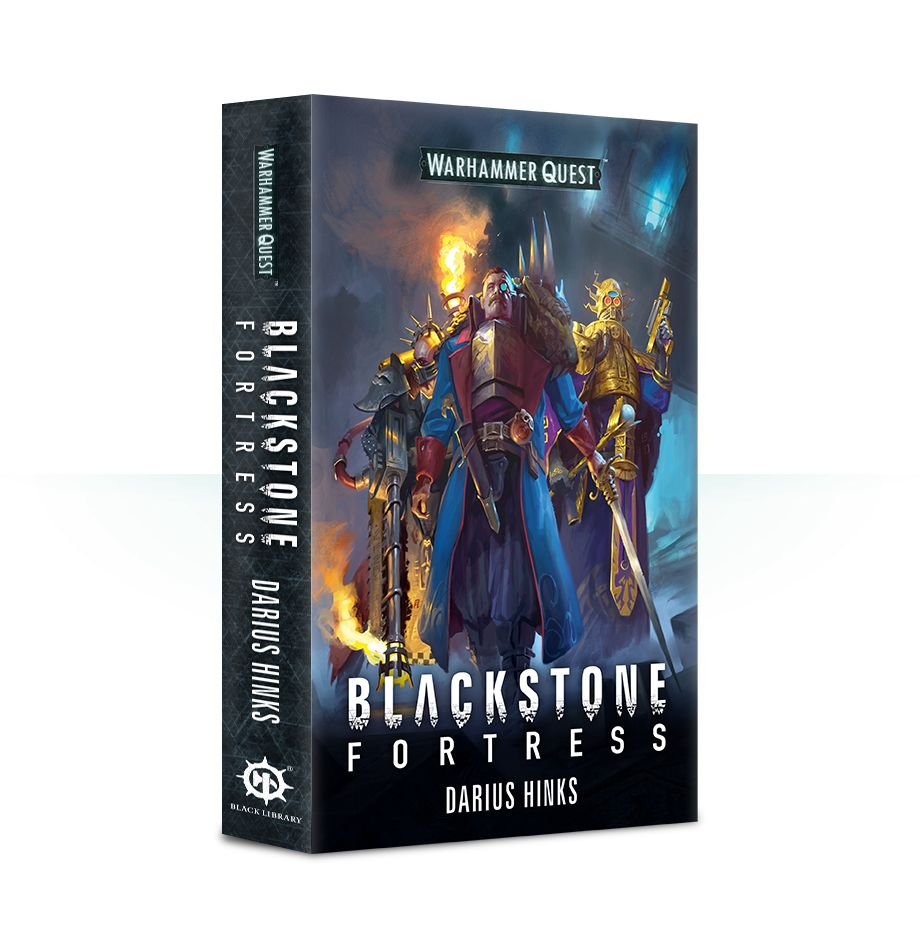 Blackstone Fortress - Warhammer Quest Novel: www.mightylancergames.co.uk