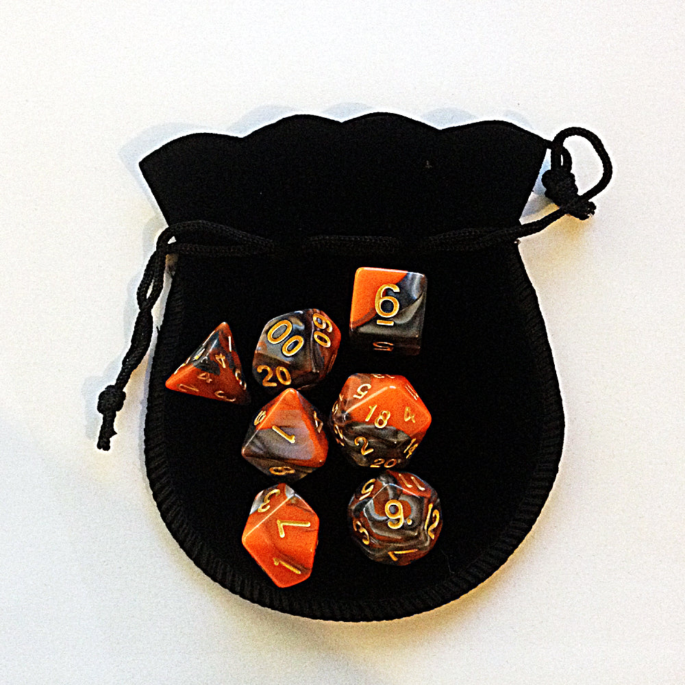 Small Dice Bag BLACK