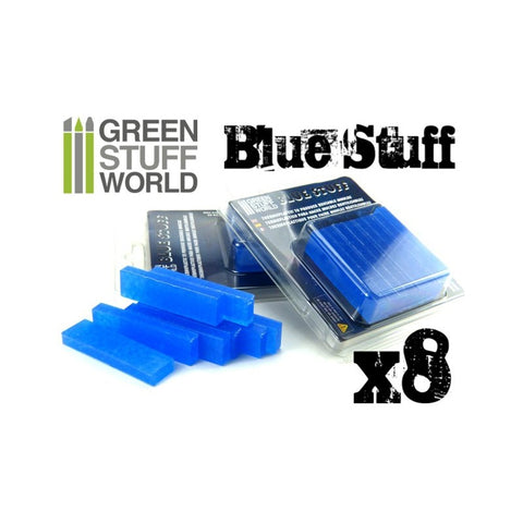 Blue Stuff Mold 8 bars :www.mightylancergames.co.uk