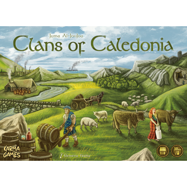 Clans of Caledonia - Juma Al-JouJou :www.mightylancergames.co.uk