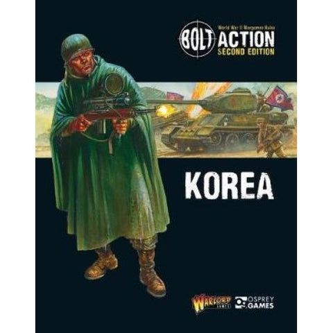 Korea Supplement Book  (Bolt Action) :www.mightylancergames.co.uk