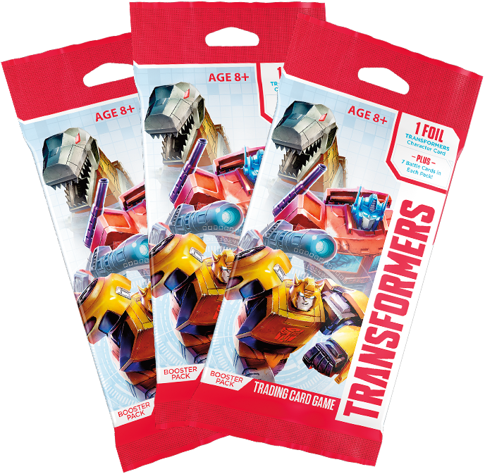 Transformers Booster Packs- 1 pack