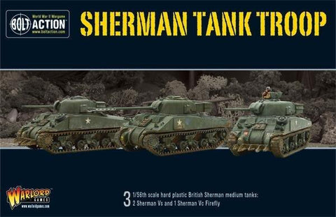 Sherman Tank Troop (Bolt Action)