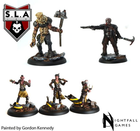 Cannibal Expansion Pack - S.L.A  Cannibal Sector 1 :www.mightylancergames.co.uk