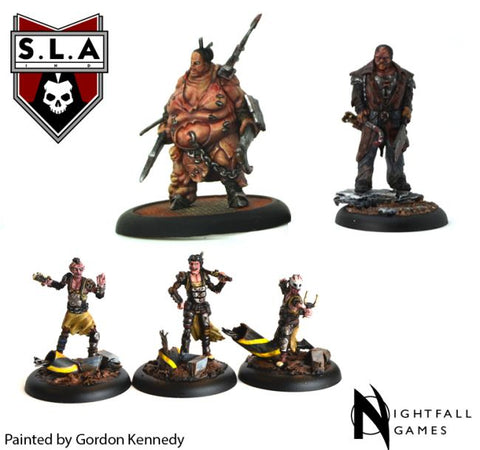 Cannibal Starter Set - S.L.A  Cannibal Sector 1 :www.mightylancergames.co.uk