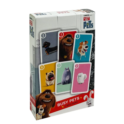 The Secret Life Of Pets Busy Pets Card Game