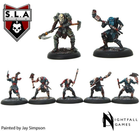 Carrien Starter Set - S.L.A  Cannibal Sector 1 :www.mightylancergames.co.uk