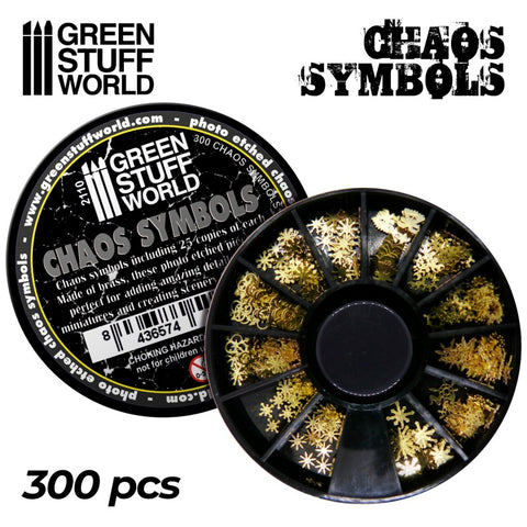 Chaos Runes and Symbols - Green Stuff World - 2110
