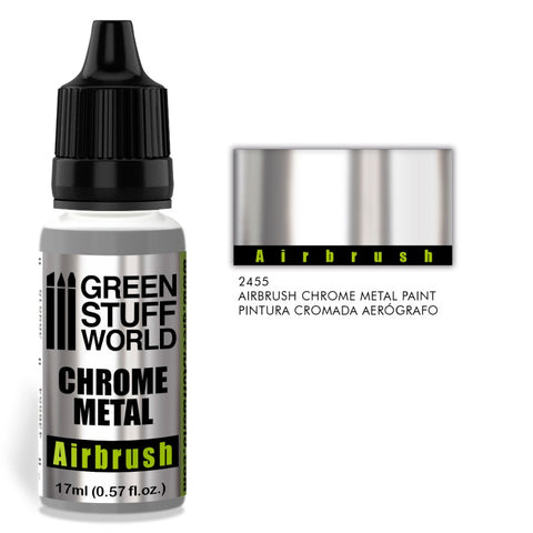 Chrome Paint - Airbrush - Green Stuff World - 2455