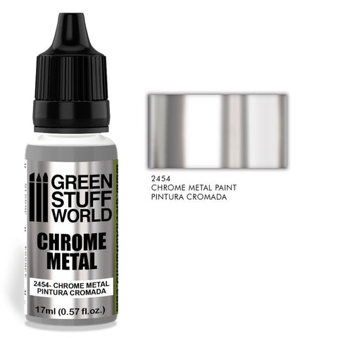 Chrome Paint - Green Stuff World - 2454