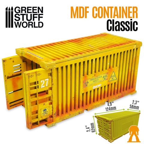 Classic Shipping Container - MDF Terrain (10319) - Green Stuff World