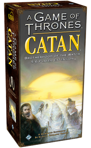Brotherhood of the Watch  5-6 Player Extension - A Game of Thrones Catan