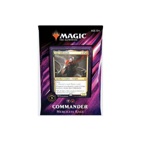 Merciless Rage - MTG Commander 2019 Deck :www.mightylancergames.co.uk