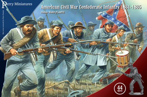 American Civil War Confederate Infantry 1861-65 - ACW80 (Perry Miniatures)