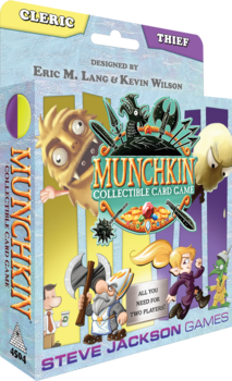 Cleric & Thief Starter Set - Munchkin CCG: www.mightylancergames.co.uk