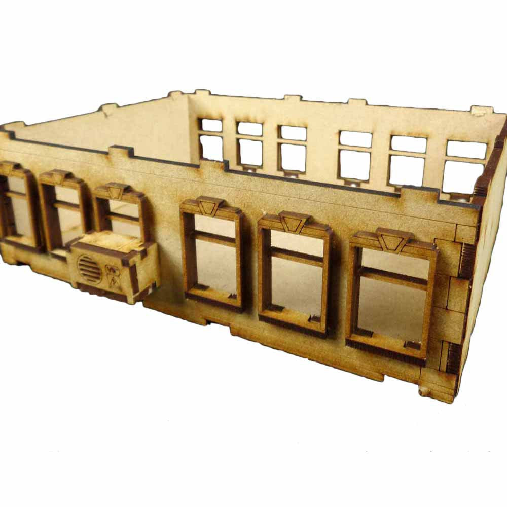 Apartment Building A Extension - Mdf Kit (TT Combat) :www.mightylancergames.co.uk