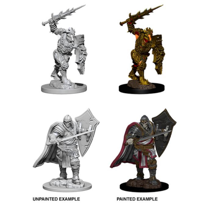 WizKids D&D Nolzur's Marvelous Miniatures - Death Knight & Helmed Horror 73399