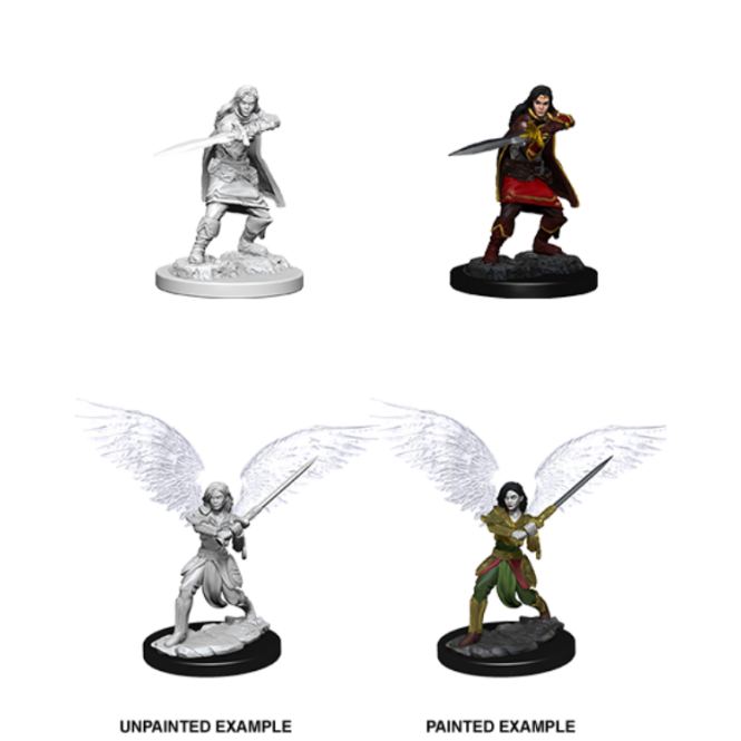 WizKids D&D Nolzur's Marvelous Miniatures  - Female Aasimar Fighter 73381
