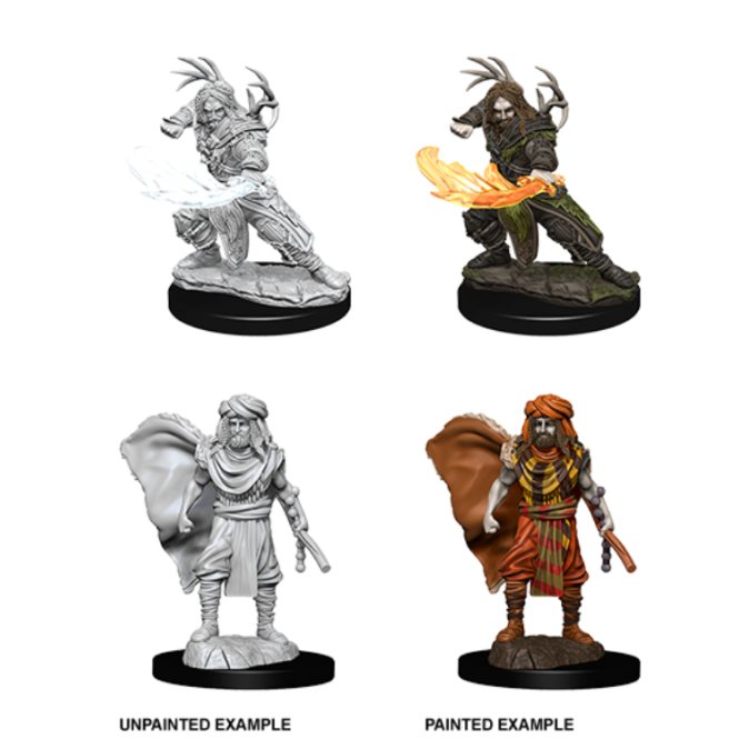 WizKids D&D Nolzur's Marvelous Miniatures - Male Human Druid 73390