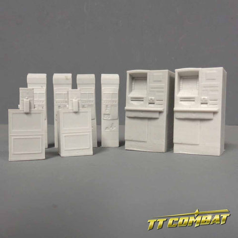 Sidewalk Accessories - TT Combat Resin Blister Pack :www.mightylancergames.co.uk