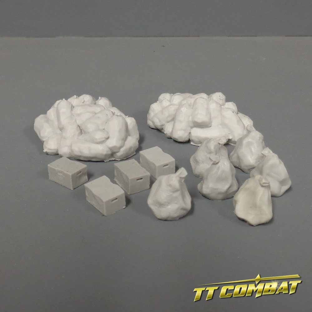 Trash Set - Resin (TT Combat) :www.mightylancergames.co.uk